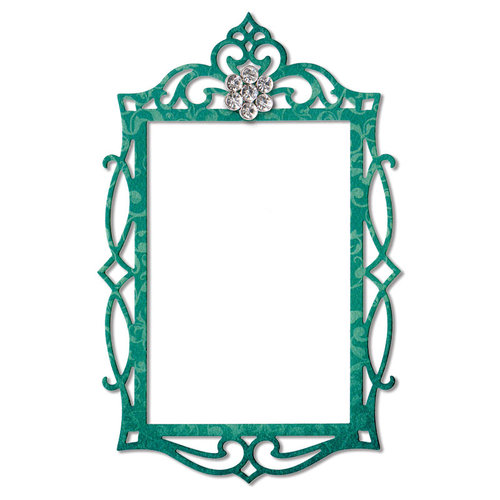 Sizzix - Thinlits Die - Fancy Rectangle Frame