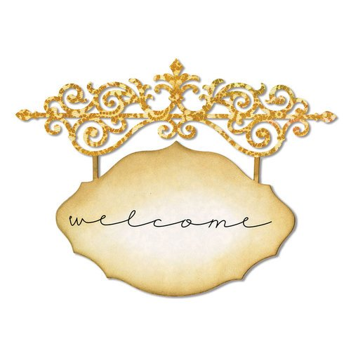 Sizzix - Thinlits Die - Ornate Hanging Sign