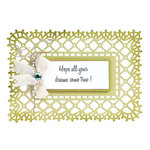 Sizzix - Thinlits Die - Frame, Garden Lattice