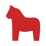Sizzix - Fabi - Bigz Die - Quilting - Dala Horse