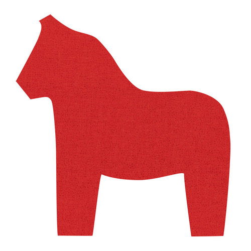 Sizzix - Fabi - Bigz Pro Die - Quilting - Dala Horse