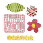 Sizzix - Echo Park - Thinlits Die - Thank You