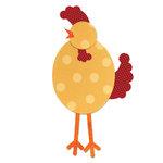Sizzix - Bigz L Die - Quilting - Chicken
