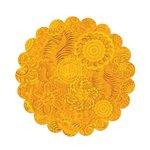 Sizzix - Fabi - Bigz Pro Die - Quilting - Circle, Scallop 8 Inch