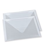 Sizzix - Accessory - Plastic Envelopes, 2 Pack