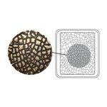Sizzix - Vintaj - DecoEtch Die - Crackle Texture