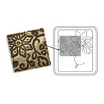 Sizzix - Vintaj - DecoEtch Die - Engraved Flowers