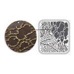 Sizzix - Vintaj - Embossing Folders - DecoEmboss Die - Organic Texture