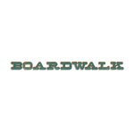 Sizzix - Tim Holtz - Alterations Collection - Sizzlits Decorative Strip Alphabet Die - Boardwalk