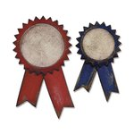 Sizzix Tim Holtz Alterations Prize Ribbons Bigz Die
