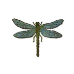 Sizzix Tim Holtz Alterations Layered Dragonfly Bigz Die and Texture Fades