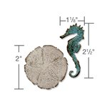 Sizzix - Tim Holtz - Alterations Collection - Movers and Shapers Magnetic Die - Mini Sand and Sea