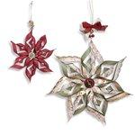 Sizzix Winter Ornaments, Scallop Stars Thinlits Die
