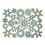 Sizzix - Winter Collection - Christmas - Thinlits Die - Card Front, Snowflakes