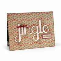 Sizzix - Thinlits Die - Winter Card with Jingle Cut-Out