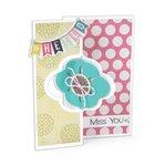 Sizzix - Framelits Die - Card, Elegant Flip-its