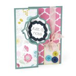 Sizzix - Framelits Die - Card, Regal Flip-its