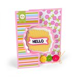 Sizzix - Framelits Die - Card, Bubbly Frame Flip-its
