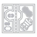 Sizzix - Framelits Die - Card Lively Frame Flip-its
