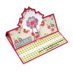 Sizzix - Framelits Die - Card, Charming Stand-Ups