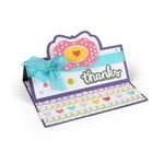 Sizzix - Framelits Die - Card, Lively Stand-Ups