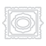Sizzix - Prima - Flora Grande Collection - Framelits Die - Enchanted