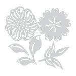 Sizzix - Prima - Flora Grande Collection - Thinlits Die - Estelle