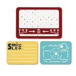 Sizzix - Thinlits Die - Smile for the Camera