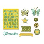 Sizzix - Jillibean Soup - Thinlits Die - Be Thankful