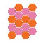 Sizzix - Bigz Die - Quilting - Hexagons, .5 Inch Sides