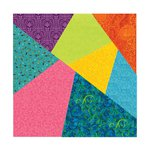 Sizzix - Fabi - Bigz Pro Die - Quilting - Crazy Quilt, 8 Inch Assembled Square