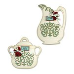 Sizzix - Vintage Kitchen Collection - Bigz L Die - Sugar Bowl and Creamer