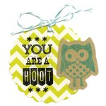 Sizzix - Framelits Die and Clear Acrylic Stamp Set - Happy Tags