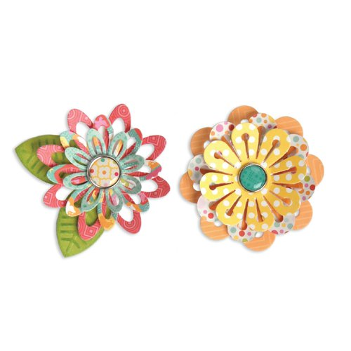 Sizzix - Thinlits Die - Simple Flowers