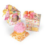 Sizzix - Bigz XL Die - Box, Cupcake