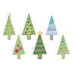 Sizzix - Triplits Die - Christmas Trees