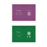 Sizzix - Where Women Cook Collection - Textured Impressions - Embossing Folders - Fancy Jar Lids Set