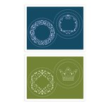 Sizzix - Where Women Cook Collection - Textured Impressions - Embossing Folders - Fancy Jar Lids Set 2