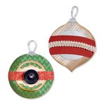 Sizzix - BasicGrey - 25th and Pine Collection - Christmas - Bigz Die - Ornaments 5