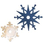 Sizzix - BasicGrey - 25th and Pine Collection - Christmas - Bigz Die - Snowflakes 3