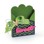 Sizzix - Life Made Simple Collection - Thinlits Die - Bag, Sweet Treat