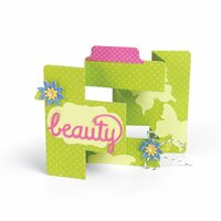 Sizzix - Life Made Simple Collection - Thinlits Die - Card, Tri-Shutter