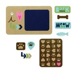 Sizzix - Life Made Simple Collection - Thinlits Die - Pets