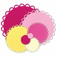 Sizzix - Framelits Die - Circles, Scallop