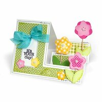 Sizzix - Framelits Die - Card, Basic Step-Ups