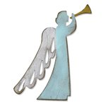 Sizzix - Tim Holtz - Alterations Collection - Christmas - Bigz Die - Angelic