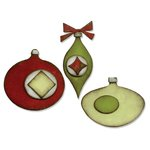 Sizzix - Tim Holtz - Alterations Collection - Christmas - Bigz Die - Retro Ornaments