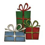 Sizzix - Tim Holtz - Alterations Collection - Christmas - Bigz Die - Retro Packages