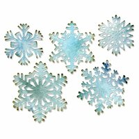 Sizzix - Tim Holtz - Alterations Collection - Thinlits Die - Paper Snowflakes