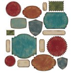 Sizzix - Tim Holtz - Alterations Collection - Thinlits Die - Labels
